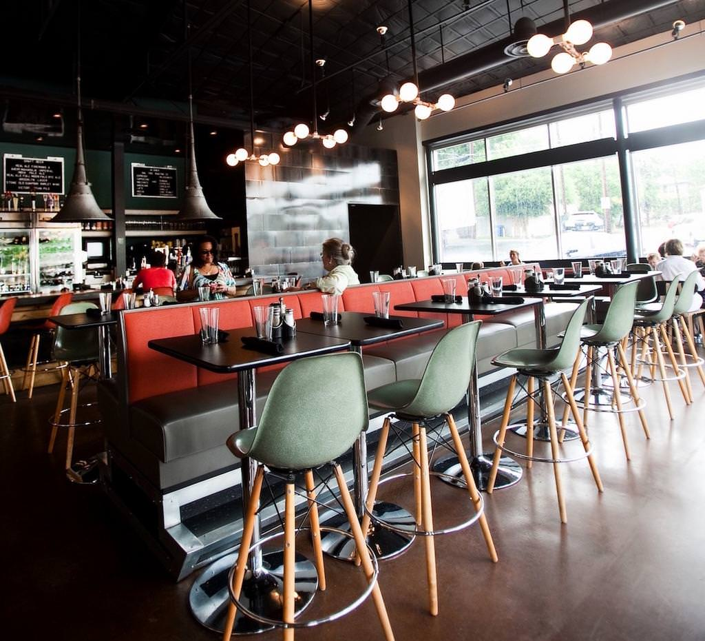 Inside 24 Diner at Lamar Boulevard and Sixth Street in downtown Austin. ELM Restaurant Group plans to open another 24 Diner location in the Rock Rose section of The Domain in North Austin. - Vanessa Escobedo Barba