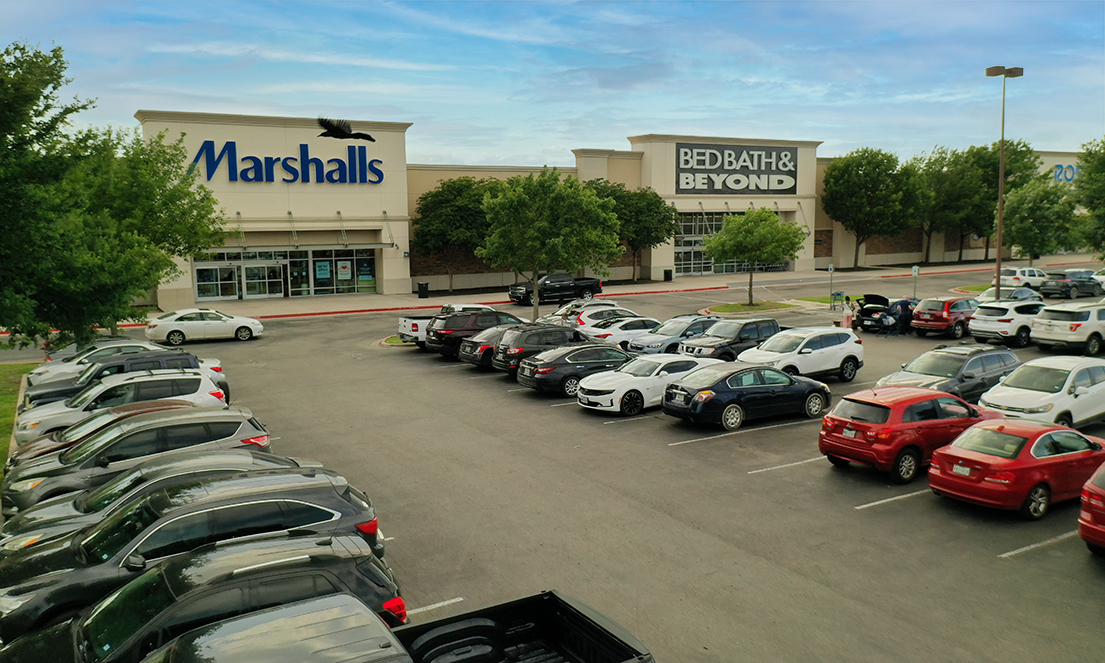 Red Oak Village Exterior of Inline Marshalls, Bed Bath & Beyond and Ross