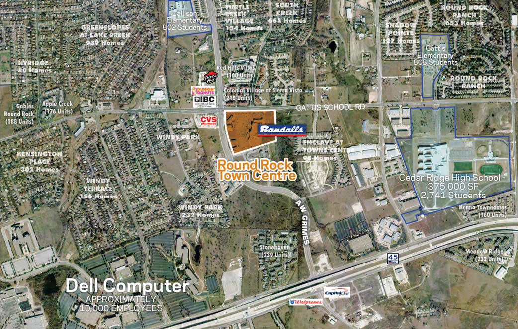 Round Rock Town Centre | Properties | Endeavor Real Estate Group