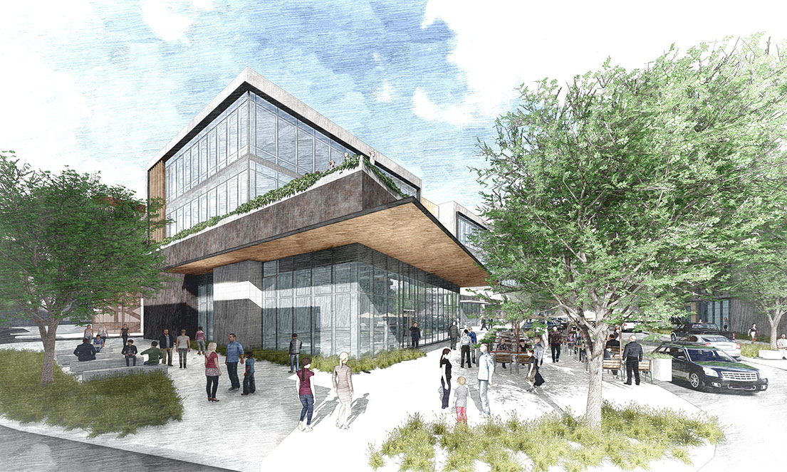 The Grove Rendering