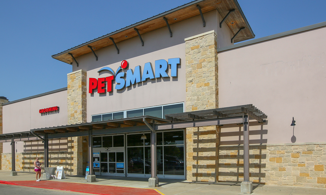 Exterior Shot of PetSmart