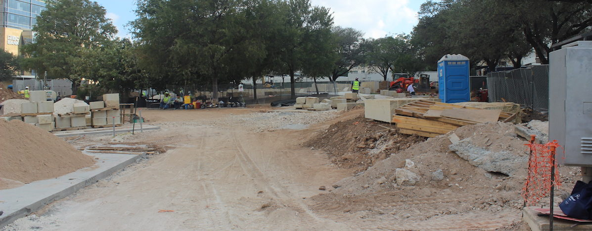 Republic Park Square in downtown Austin will be complete this fall.