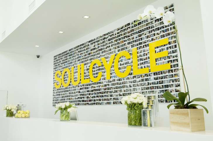 SoulCycle is among Domain Northside's tenants.