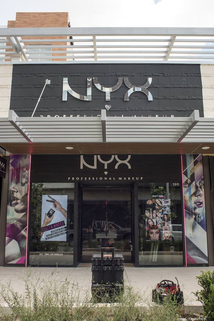 Make-up makes up a big chunk of new tenants in Domain Northside including NYX.
