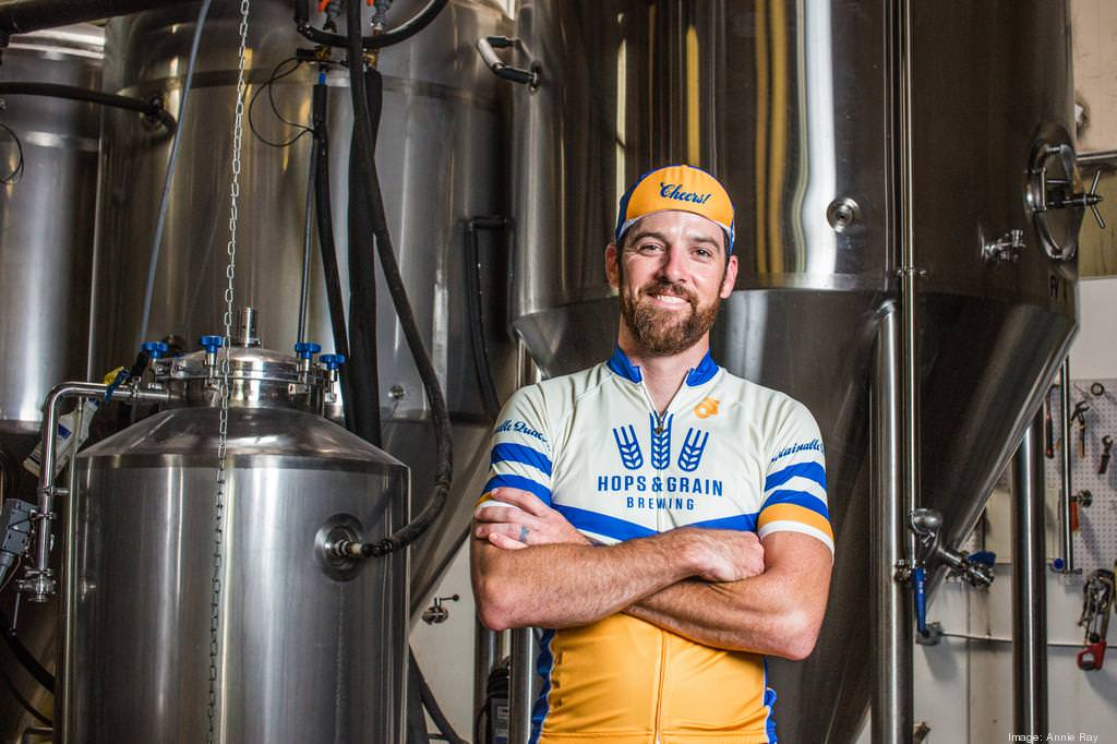Josh Hare, CEO of Hops and Grain. -  Annie Ray