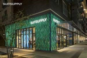 Suitsupply is now open at Domain Northside.